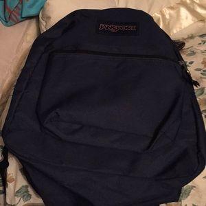 NWOT Jansport Blue To Navy Blue Backbag #Bag5